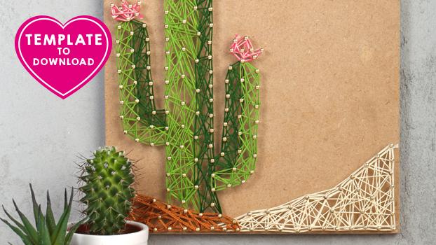 graine creative string art. Black Bedroom Furniture Sets. Home Design Ideas